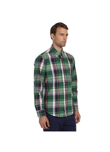 Comienzo Kareli Gömlek Yeşil